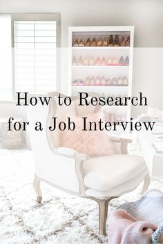 Up for an interview for your dream job? Here's how to research for a job interview. Interview Answers, Interview Skills, Job Interview Questions, Job Interview Tips, Job Interviews, Interview Preparation, Interview Techniques, Job Career, Career Advice