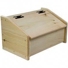 Woodworking Tips (angle-view) Wooden-Bread-Box-Unstained Wood Projects For Beginners, Beginner Woodworking Projects, Woodworking Patterns, Diy Wood Projects, Woodworking Inspiration, Woodworking Basics, Youtube Woodworking, Woodworking Techniques, Learn Woodworking