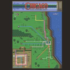 www.riptapparel.com/blog/ript-chicago-t-shirts-unique-chicago-shirts-based-on-video-games/ #Zelda #Chicago Graphic and Poster from RIPT Apparel