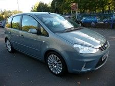 Ford C Max 1 8 16v 125 Titanium Mpv 5d 1798cc With Images Cars
