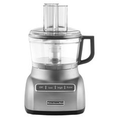 @Target - KitchenAid Contour Silver 7 Cup Food Processor.Opens in a new window