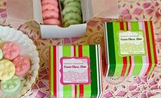 Cream Cheese Mints Recipe — My Own Ideas Holiday Cookies, Holiday Treats, Christmas Treats, Holiday Recipes, Christmas Foods, Mint Recipes, Candy Recipes, Dessert Recipes, Desserts
