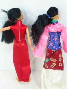 Mulan Doll, Dolly Dress, Vintage Disney, Snow White, Disney Princess, Disney Characters, Dresses, Gowns, Dress