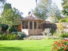Living the great outdoors... indoors. VICTORIAN SUMMERHOUSES GARDEN SUMMERHOUSES GAZEBOS GARDEN BUILDINGS RED CEDAR BUILDINGS