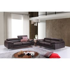 esf 3pcs sofa loveseat and chair set 2757 | nähen, stühle und ... - Moderne Wohnzimmereinrichtung