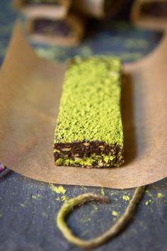 Dark Chocolate Matcha Bars