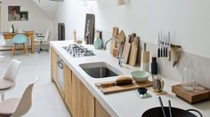 20 bonnes idées pour une cuisine moderne et pratique