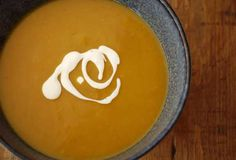 Roasted Butternut Squash Soup with sage.  A truly nourishing and delicious soup.