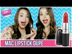 Best Drugstore Dupe For Mac Lipstick | Dupe Detectives w/ the Merrell Twins - YouTube