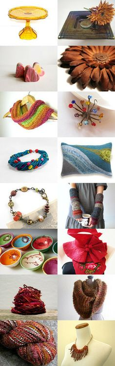 Color, color, color by Christa Brenner on Etsy--Pinned with TreasuryPin.com