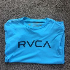 RVCA T-Shirt Light weight -100% Cotton-RVCA T-Shirt. Great for Spring/Summer season. Pair it with light colored jeans or shorts for causal time with friends/family. (Condition: Almost New) RVCA Tops Tees - Short Sleeve