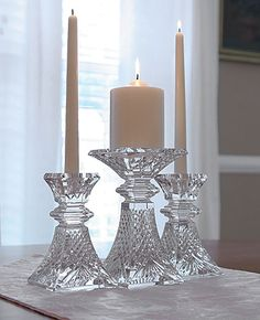 Waterford Crystal Candle Holders | Today's best selling items by Waterford Crystal at Crystal Classics: