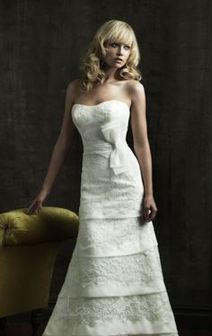 Allure 8808  http://www.missesdressy.com/8808-satin-organza-dress-allure-bridals-p-22418.html
