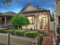 Victorian single fronted weatherboard
