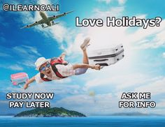 Do you love planning holidays?  Is travel and tourism your kind of fun?  Would you like to succeed in an exciting industry?  Then this course could be for you!  Possible Career Opportunities:  Inbound Sales  Tourism and travel marketing  Tour operations  Tourism and travel sales  Visitor Information centre  Travel Agent  Study Now Pay Later!  ASK FOR A FREE INFO PACK NOW https://www.facebook.com/ilearncali/