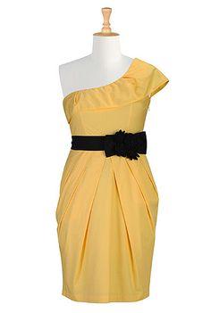 #yellow #bridesmaids #dress, #eshakti