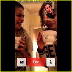 Selena Gomez & Taylor Swift: Facetime Fun with Demi Lovato!