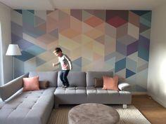 Abstract geometric art by Miranda Maakt het Mooi (Miranda Makes it Magnificent)