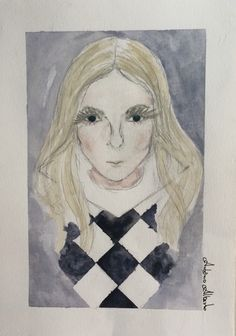 Jonna Lee iamamiwhoami Goods watercolour Fanart