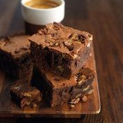 Michel Roux's pecan nut brownies