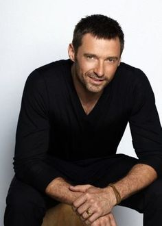 Hugh looks so wonderful in Black