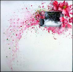 Beautiful inspiration ... Prima DT - Mixed Media - Scrapbook.com