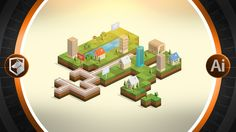Check out Isometric City Map Builder Vector by Designers Revolution on Creative Market Isometric Map, Isometric Design, Isometric Drawing, Illustrator Cs5, Adobe Illustrator Tutorials, Free Vector Graphics, Vector Art, Vector Illustrations, Vector Stock