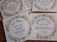 Gallery For > Lord Of The Rings Themed Wedding Invitations