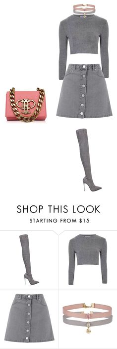 """""""Untitled #182"""" by abarzani-1 ❤ liked on Polyvore featuring Le Silla, Glamorous, Miss Selfridge and Emilio Pucci"""