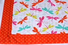 $40 #Summer Place Mats Set of 4 Quilted #Placemats by #dragonfly #WexfordTreasures