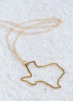 Gypsy Wagon - Texas Cutout necklace