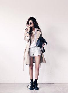 Soo Ah  #korean #fashion #woman #asian