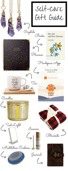 Gift ideas for self care that are thoughtful and show how much you really care. Gift ideas for the mind, body, soul and home.