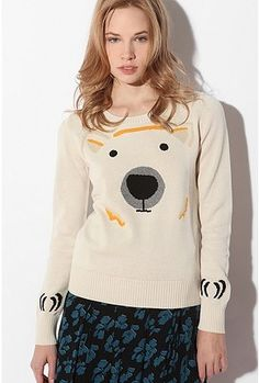 Cooperative Polar Bear Sweater