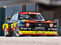 Zakspeed Ford Escort race car