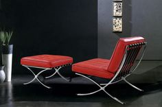 Charmant Vega Red Lounge Chair. Available In Black, White, Grey Or Red. Distributed