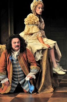 Eric Hoffmann and Ashleigh Stochel in Clarence Brown Theatre's Production of Tartuffe. 2011