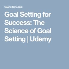 Learn to set goals the right way - based on insights from the last 40 years of goal-setting research. Setting Goals, 40 Years, Reflection, Self, Success, Science, Learning, Studying, Teaching