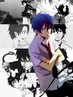 Rin Okumura || Ao no exorcist • Blue Exorcist
