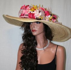 Gorgeous Kentucky Derby Hat by Vinzetta Millinery     www.stores.ebay.com/hatmillinery