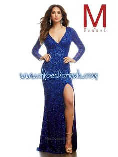 MAC DUGGAL PROM OR PAGEANT DRESS