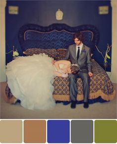 blue room color palette by bow tie & bustle. photo by w. scott chester.