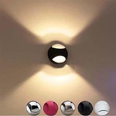 wandlampen 3W warm wit led, modern design, 110-120V - EUR € 63.63-via Lightinthebox.com