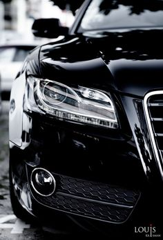 ♂ Black car Audi A5 Sportback by Louis Krisman