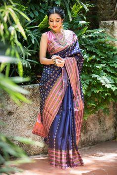Kota Silk Saree, Silk Sarees, Sari, Indian Bridal Sarees, Bengali Saree, Pakistani, Silk Saree Kanchipuram, Saree Poses, Pattu Saree Blouse Designs