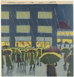 Nihon no hanga - Collection Details - Azechi Umetarō (1902-1999)