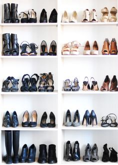 my collection of shoes