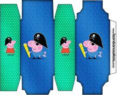 Caixa Sabonete George Pig Pirata: