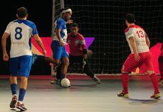 Blog Esportivo do Suíço:  Times de Ronaldinho e Falcão iniciam perdendo em torneio indiano de futsal