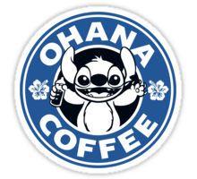 Ohana Coffee - Blue Version Sticker